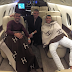 Cristiano Ronaldo Heads To Spain With Pepe And Brother In A Private Jet
