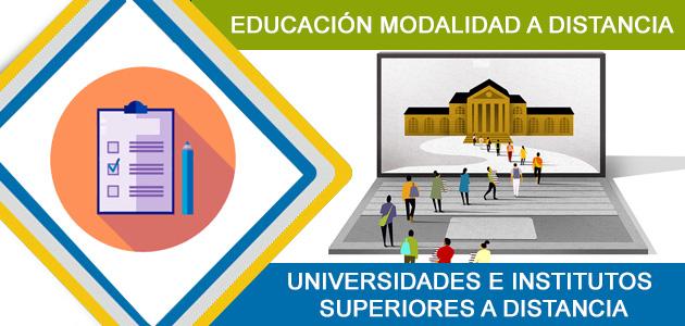 UNIVERSIDADES E INSTITUTOS SUPERIORES A DISTANCIA EN ECUADOR INSCRIPCIONES