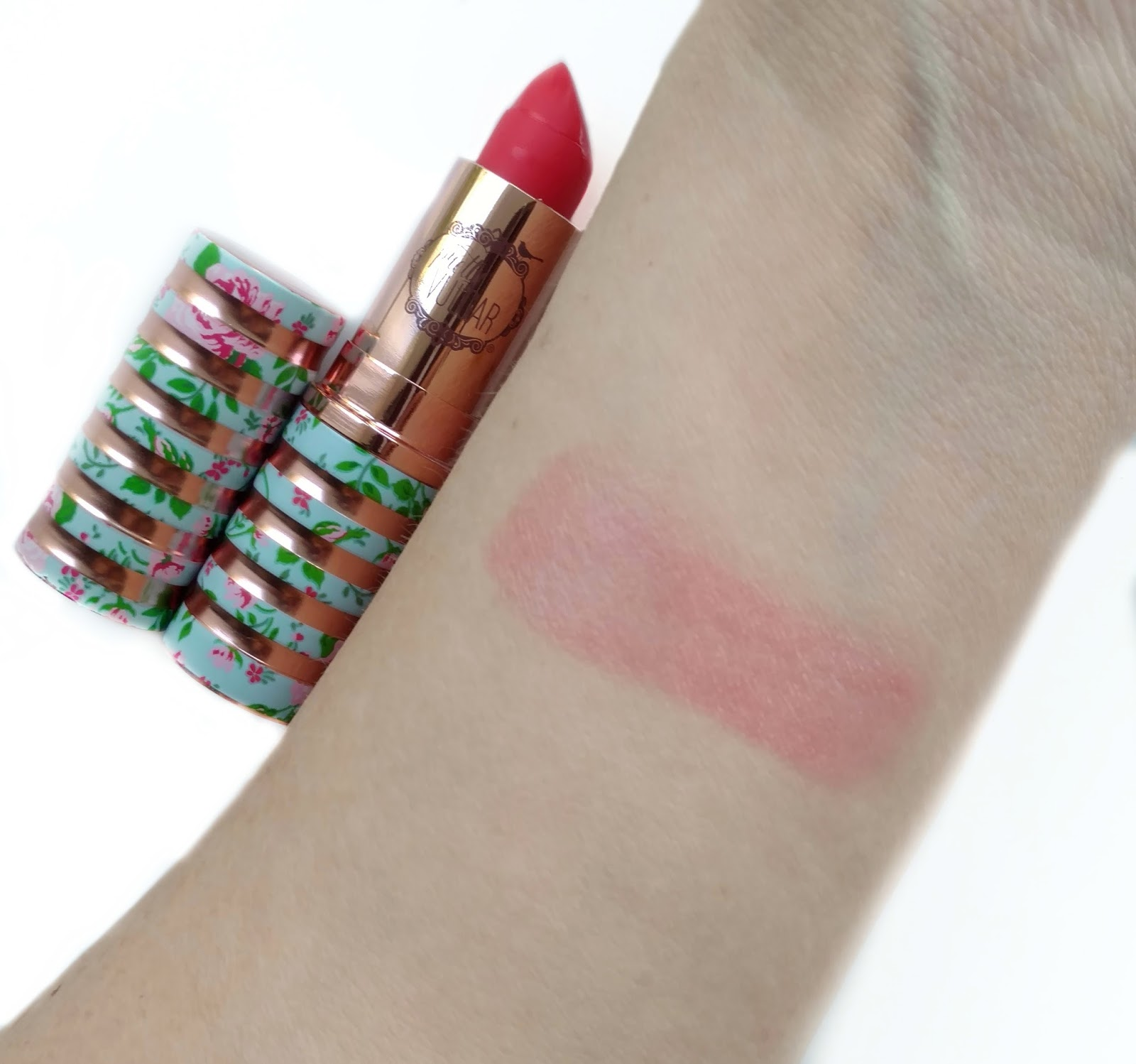 pretty vulgar tinted lip balm swatches