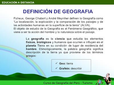 que es la geografia