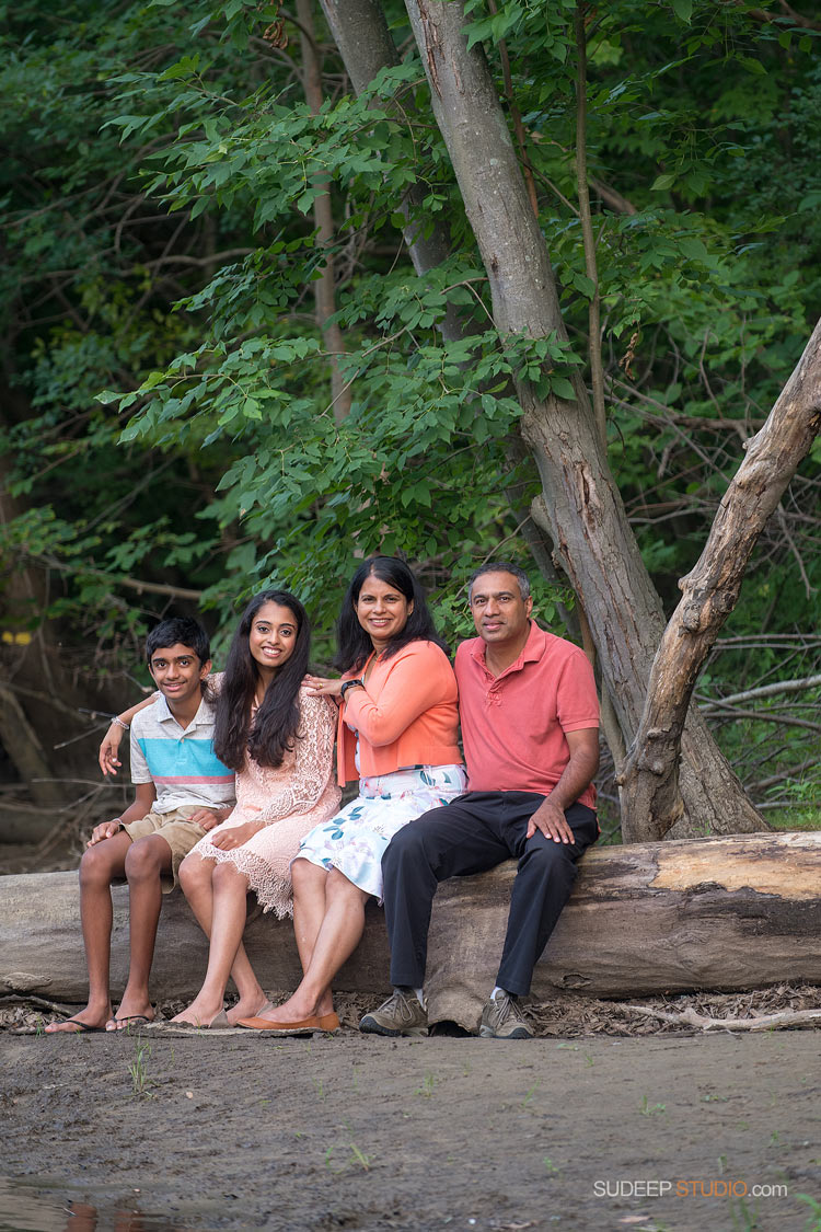 Ann Arbor Family Portrait Photographer Indian Natural Light Ideas - SudeepStudio.com