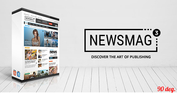 Newsmag v3.0 – News Magazine Newspaper