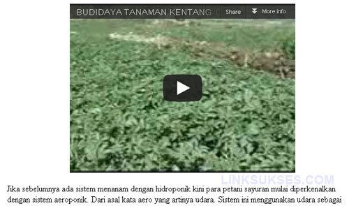 Menyisipkan Video Youtube di dalam Posting