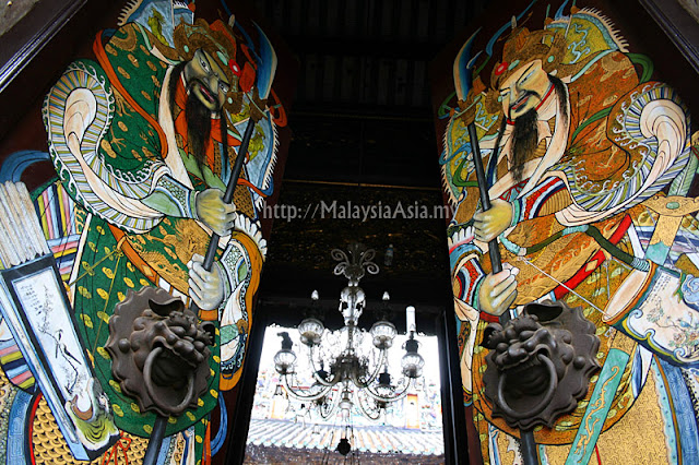 Temple Doors in Penang