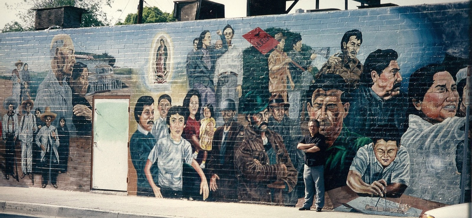 an analysis of the artist who painted the cesar chavez mural emigdio vazquez Emigdio vasquez painted dozens of murals in central orange county sadly, many no longer exist but as part of @pstinla there's now an app that has 'em all.