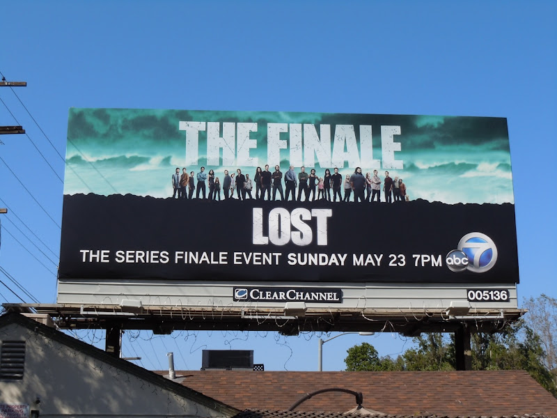 LOST finale TV billboard