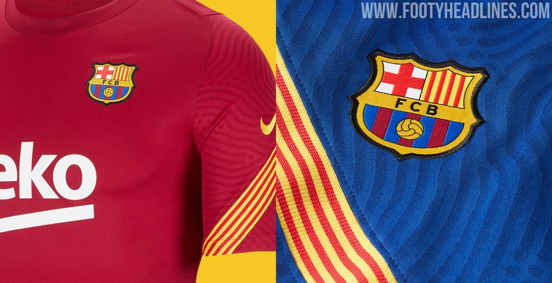fc barcelona 20 21 training kits leaked footy headlines fc barcelona 20 21 training kits leaked