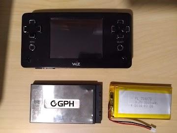 Cambio de batería a una GP2X Wiz #PacoblogC64