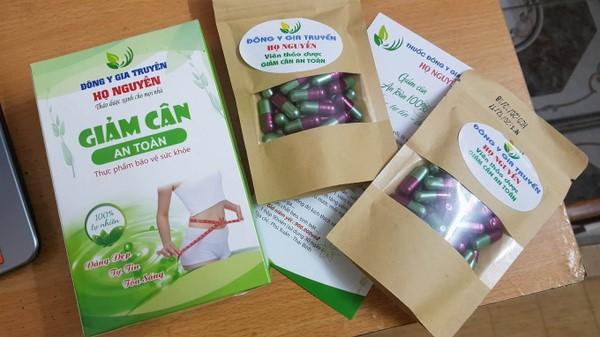 Thu hồi sản phẩm giảm cân Đông y họ Nguyễn của công ty Hà Thanh