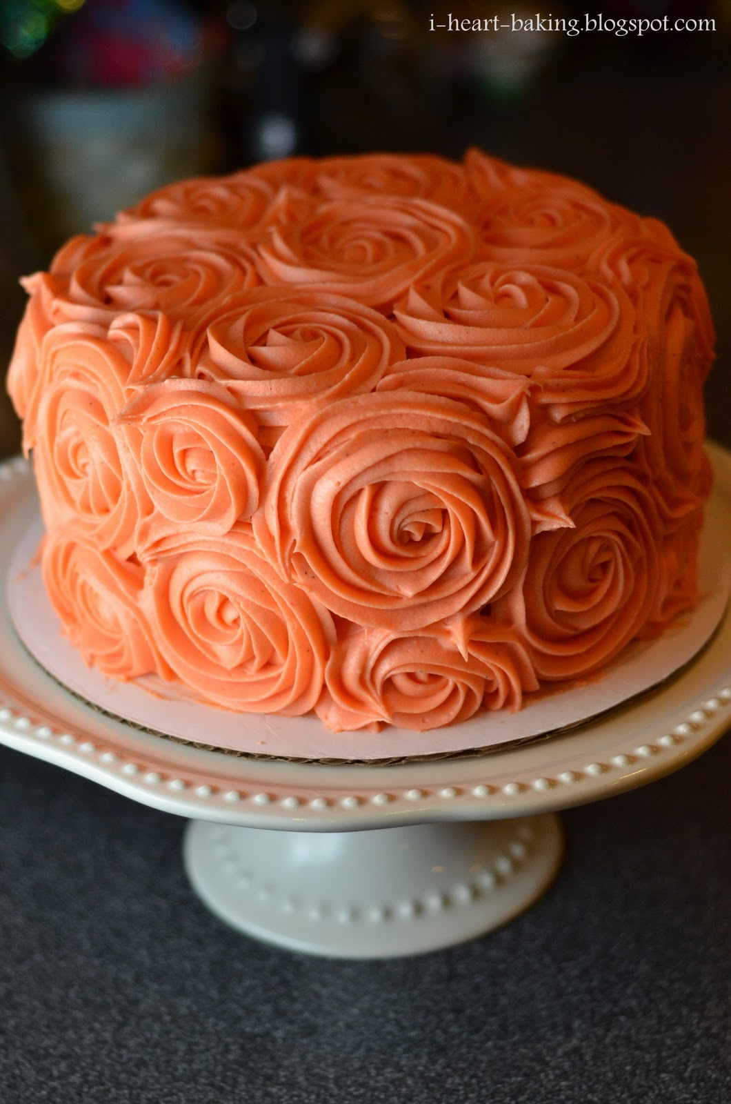 Orange Cake With Cream Cheese Icing