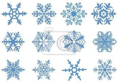 ściana Jak Marzenie Naklejki świąteczne Płatki śniegu