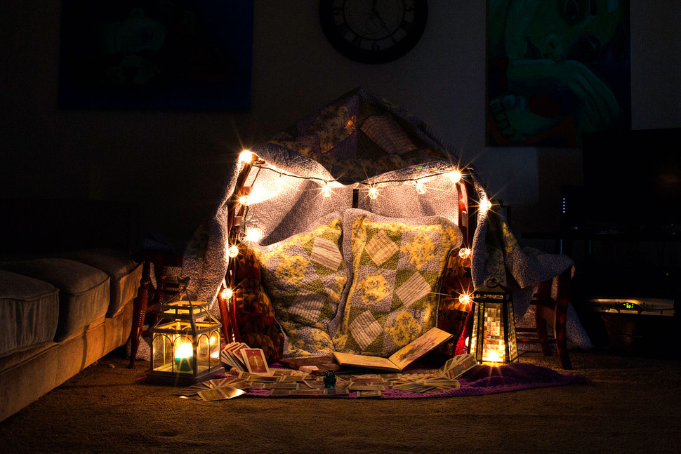 Ghost Hunting Theories Adult Blanket Forts Ultimate