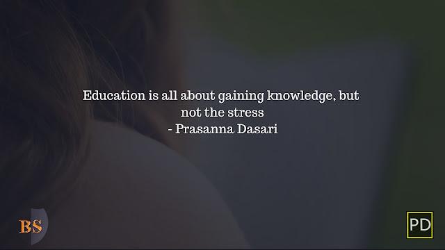 Prasanna Dasari Quotes