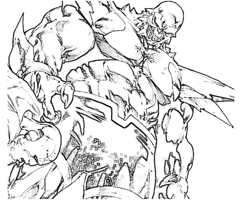 dc coloring pages | DC Universe Doomsday Ability | Yumiko Fujiwara