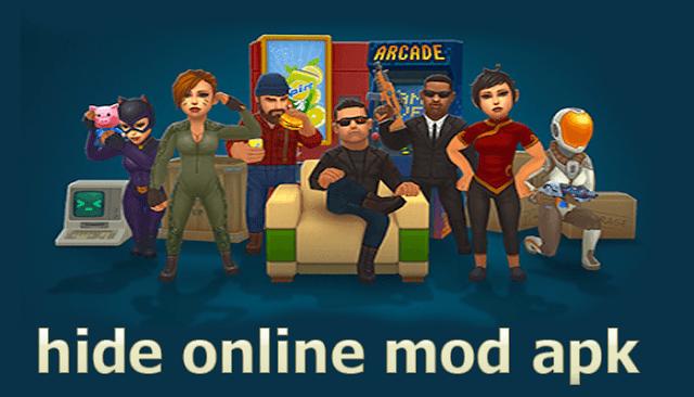 تحميل لعبة hide online mod apk مهكرة