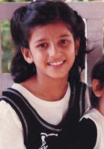 Shruti Haasan Childhood