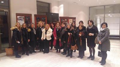 """Σύλλογος Κοκκινοπλιτών Πιερίας """"Ο ΟΛΥΜΠΟΣ"""". Με αφορμή την παρακολούθηση θεατρικής παράστασης στη Θεσσαλονίκη."""