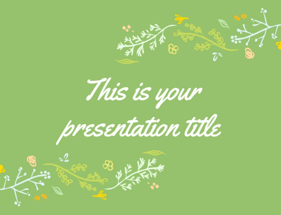 Floral Powerpoint Templates | Lib Wallpapers