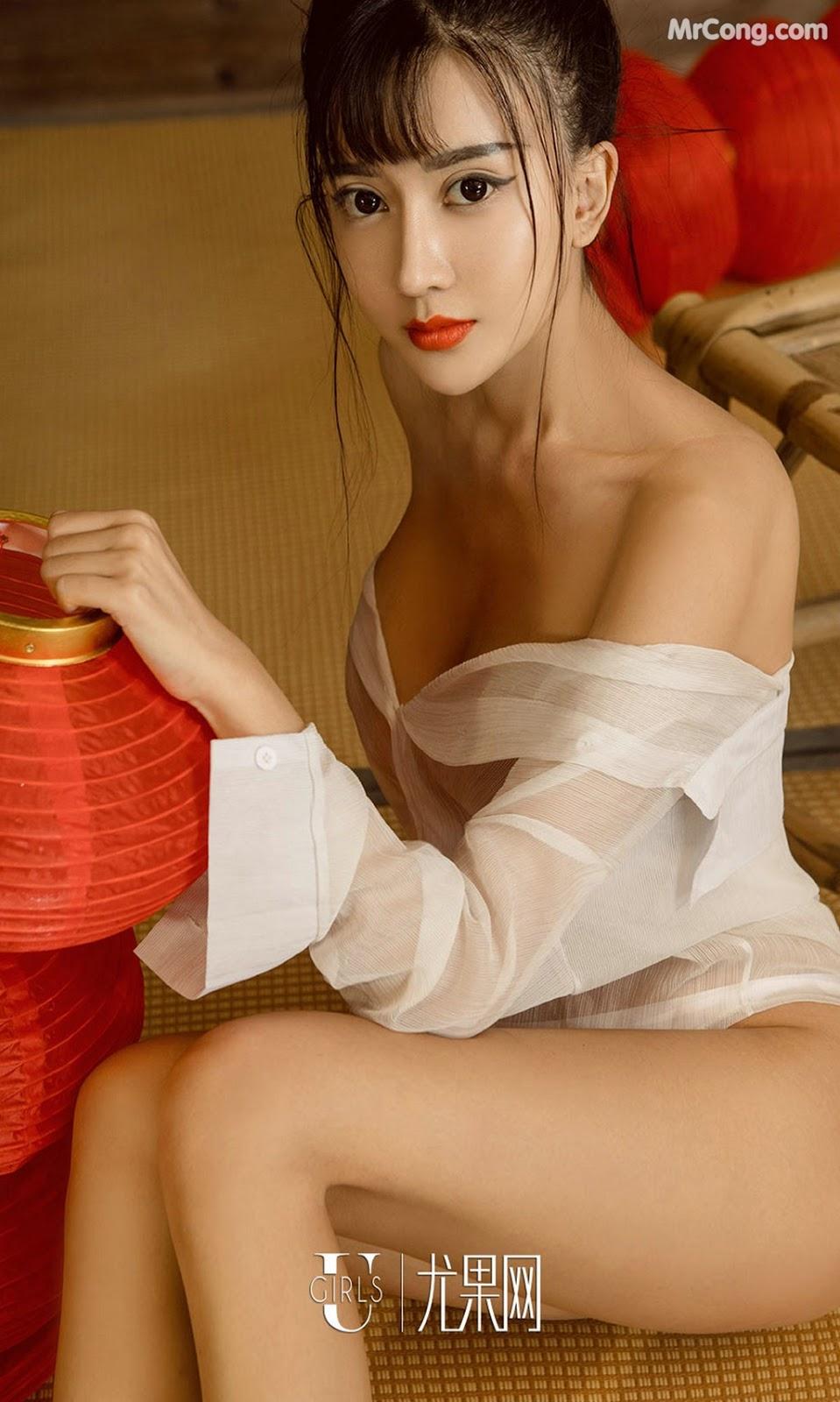 Image UGIRLS-Ai-You-Wu-App-No.868-Zhao-Zhi-Yan-Xiao-Hui-MrCong.com-003 in post UGIRLS – Ai You Wu App No.868: Người mẫu Zhao Zhi Yan (赵智妍) và Xiao Hui (筱慧) (40 ảnh)