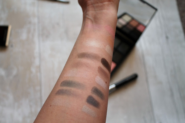 NARS Sarah Moon Give In Take Palette Swatches