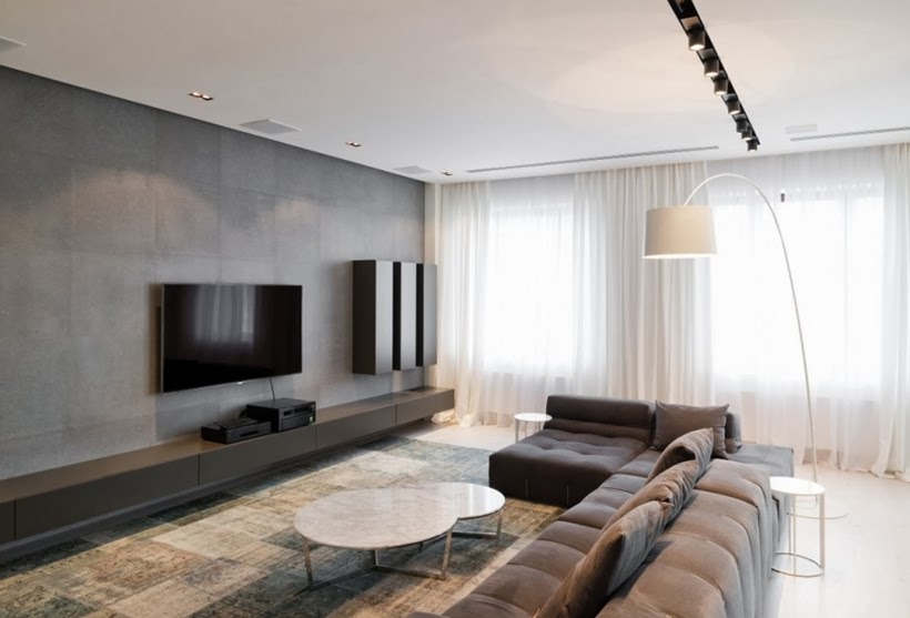 minimalist interior design in moscow on world of architecture 02