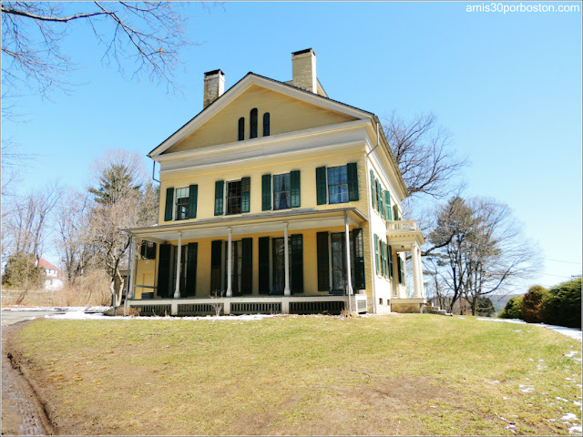 Emily Dickinson Museum en Amherst: The Homestead