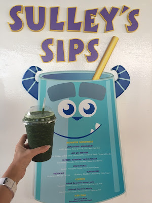 Order a Juice Tonic for Sulley's Sips on the Disney Wonder Cruise Ship