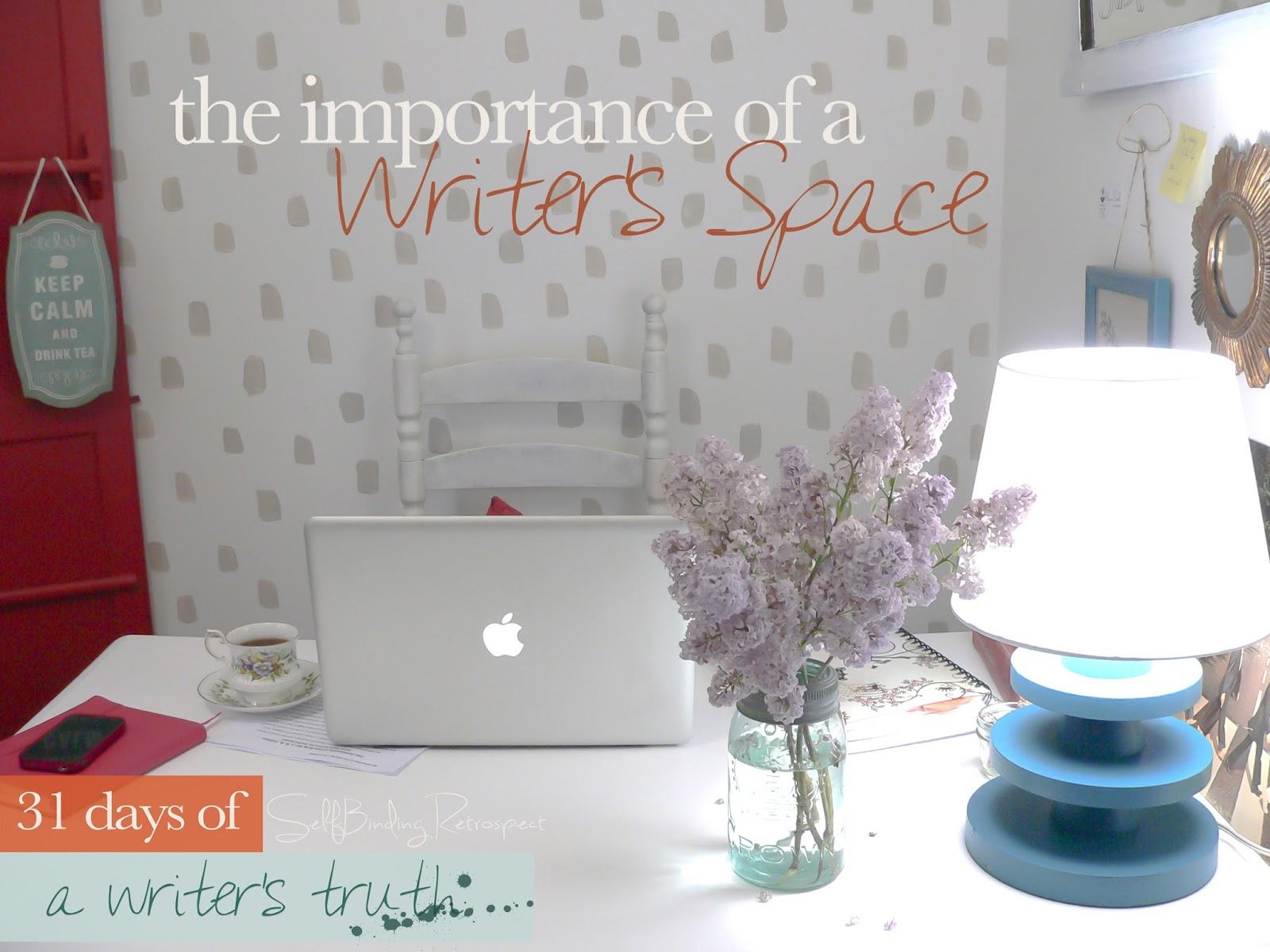 the importance of a writer's space #write31days