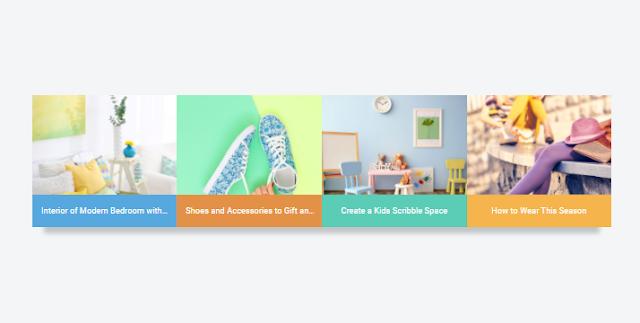 Cara Membuat Widget Recent Post Berwarna (Colorful) Arlina Design