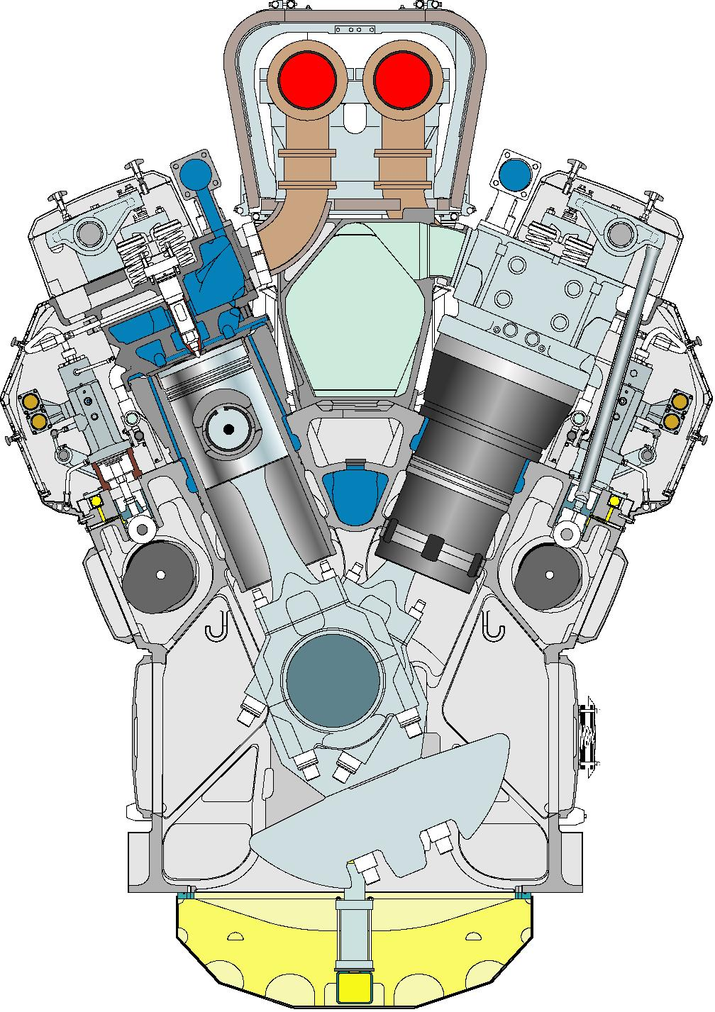 Oasis Of The Seas Engine Room: CFD Analysis About Valve Overlap