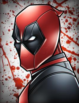 Como Desenhar Deadpool Fácil Desenhos Hd