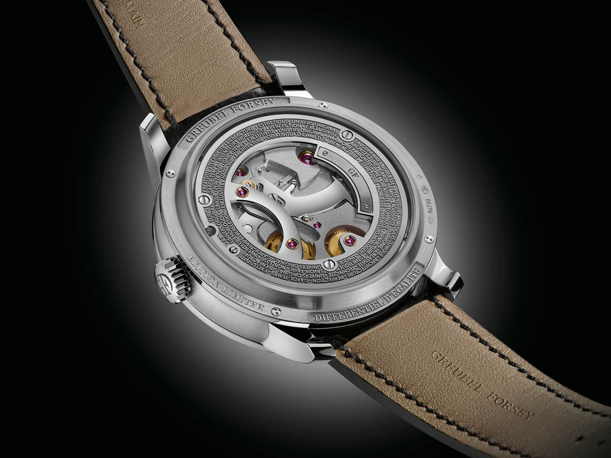 sihh 2018 greubel forsey differentiel d egalit time and watches the watch blog. Black Bedroom Furniture Sets. Home Design Ideas