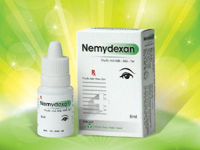 Thuốc nhỏ mắt- mũi- tai Nemydexan 8ml