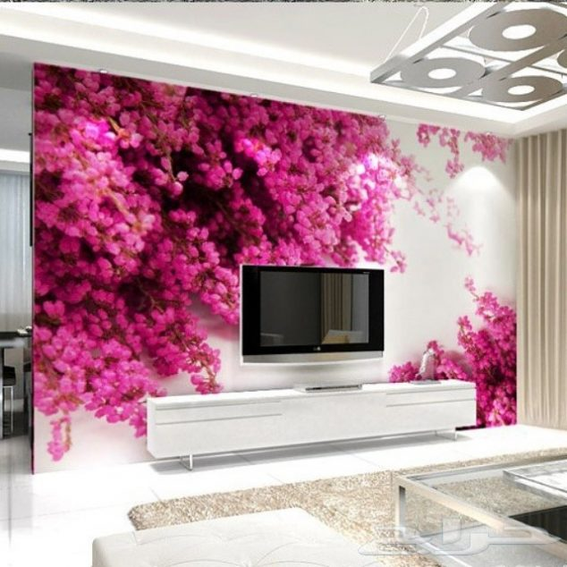 Beautiful 3D Wallpaper for TV Wall Units That Will Make a Statement ...