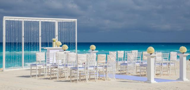 Lugares românticos para se hospedar durante a lua de mel em Cancún