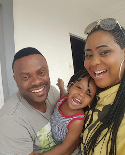 Actor, Okon Lagos And Wife Celebrate 4th Year Wedding Anniversary, Share Lovely Photo.