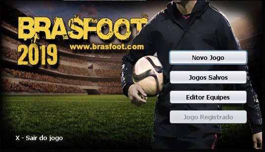 Registro do Brasfoot 2019 Funcionando