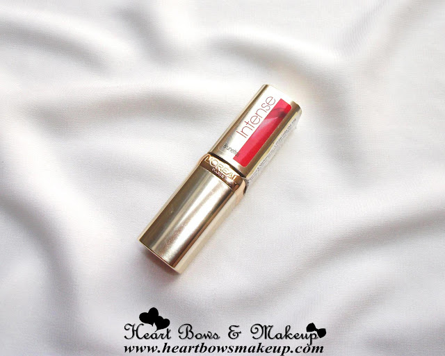 LOreal Paris Color Riche Intense Lipstick Pink Passion Review, Swatches, Price & Buy Online India