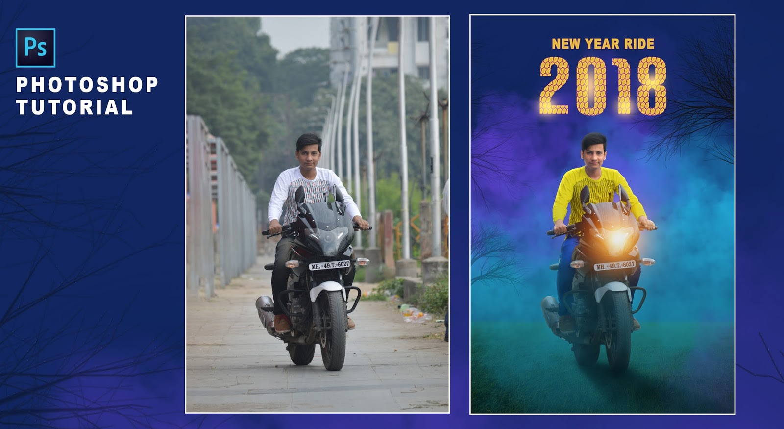 New year special editing 2018 photoshop photo editing new year special editing 2018 photoshop photo editing photoshop manipulation editing tutorial baditri Gallery