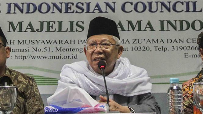Ogah Mundur, Ma'ruf Amin Akan Jabat Ketua MUI Lagi Jika Kalah Pilpres