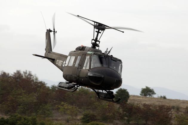 Πτώση στρατιωτικού ελικοπτέρου στην Ελασσόνα - Τέσσερις νεκροί, μία τραυματίας