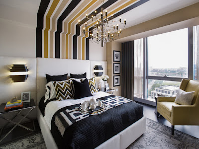 +50 Art Deco bedroom interior design decor style 2019