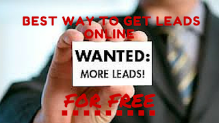 how to generate business leads online for free