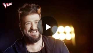 entrevista a antonio orozco en Antena 3 para la La Voz