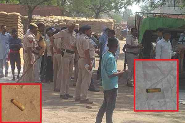 palwal-hassanpur-news-anajmandi-firing-2-injured-police-on-spot