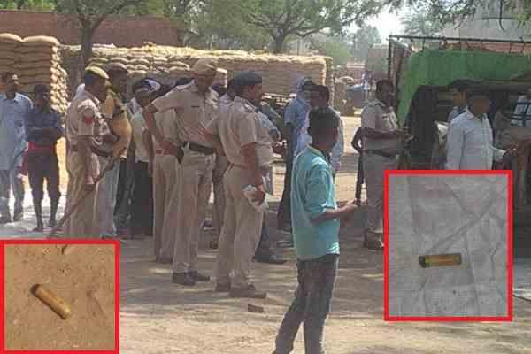 palwal-hassanpur-news-anajmandi-firing-2-injured-police-on-spot