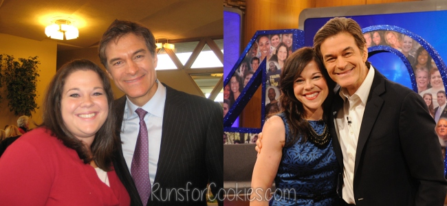 Before and after photos with Dr. Oz