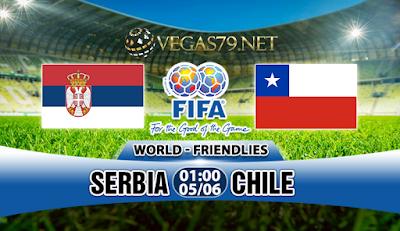 Nhận Định Serbia vs Chile, 01h00 ngày 5/6