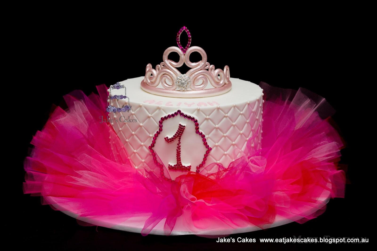 Jake S Cakes Tiara Tutu Cake