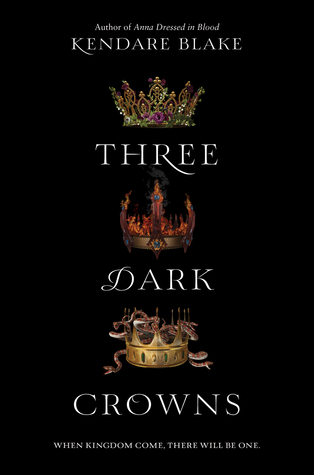 Three Dark Crowns Kendare Blake cover